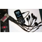 зарядный ток USB&индикатор напряжения
