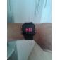 Jumbo Unisex LED Klokke - Svart