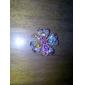 Women's  Vintage Colorful Flower Rhinstone Brooch N296