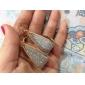 Mulheres Brincos Compridos Bijuterias Destaque Personalizado bijuterias Moda Liga Jóias Jóias Para Festa Diário Casual