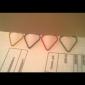 modèle de coeur en plastique enveloppé trombones (10pcs couleurs aléatoires)