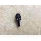 3.5mm Cartoon Cute Stereo Microphone Pattern Anti-dust Plug DIY for iPhone 8 7 Samsung Galaxy s8 s7