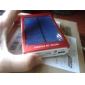 bateria externa banco energia solar portátil para o iphone 6/6 plus / samsung S4 / S5 (cores sortidas, 6000mAh)