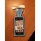 Oreilles de lapin conception solide Couleur de cas de dos de silicone pour iPhone 4/4S (couleurs assorties)