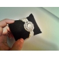Mulheres Relógio de Moda Relógio de Pulso Bracele Relógio Quartzo imitação de diamante Banda Flor Pérolas Elegantes Preta Branco Dourada