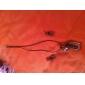 rationaliser motif noir Vaidurya collier et boucles d'oreilles