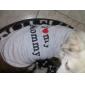 Коты Собаки Футболка серый Одежда для собак Лето Весна/осень Сердца Милые На каждый день День рождения