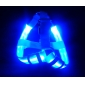 Adjustable Nylon Safety LED Light Harness for Pets Dogs (Assorted Colors, Sizes)