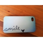 Smile Everyday Cartoon Pattern PC Hard Case for iPhone 4/4S