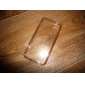 Ultrathin Transparent Silicone Back Case for iPhone 5C