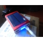 Portable Solar Power Bank external battery for iphone 6/6 plus/Samsung S4/S5(Assorted Colors,6000mAh)