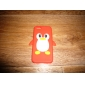 Cartoon Penguin Silicone Soft Case for iPhone 5C (Assorted Colors)