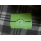 Candy Color PU Leather Card Case Bag (Random Color)