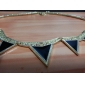 Z&X®  Fashion Geometry Hollow Out Alloy Necklace