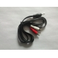 5ft Twin Red White 2x RCA Phono to Stereo 3.5mm Mini Jack Stereo Audio AUX Cable
