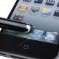Extensible 55mm à 75mm tactile Stylet avec 3,5 mm anti-prise de la poussière pour iPad, iPhone et autres (couleurs assorties)