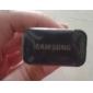 Voyage adaptateur chargeur de la prise d'UE pour Samsung Galaxy S3 S2 I9100 I9300 I9220 Remarque N7100