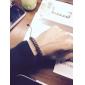 Муж. Браслеты-цепочки и звенья Кожаные браслеты Кожа Круглый Геометрической формы Бижутерия Для Спорт