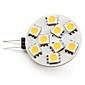 3W G4 Точечное LED освещение 9 SMD 5050 100 lm Тёплый белый DC 12 V