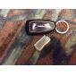 hiiri ja näppäimistö muotoinen metallinen avaimenperä, pari
