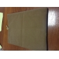 High Quality Solid Color Flannelette Bag Case for iPad 2/3/4/Air (Assorted Colors)