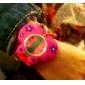 Children's 3D Butterfly Shape Silicone Band Quartz Analog Slap Wrist Watch
