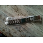 Unisex Stainless Steel Watch Band 18MM (Silver)