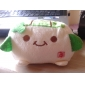 Kawaii Hannari Tofu Cell Plush Mobilholder Holder julegave (CEG1058)