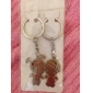 Stainless Lovers keychains (Boy and Girl / 2-Piece Set)