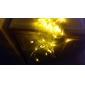 Festival Decoration 120-LED 8-Mode Yellow Light Net Lamps for Party Garden Fence (220V)