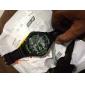 SKMEI Masculino Relógio Esportivo Relógio Militar Relógio de Pulso LED LCD Calendário Impermeável Dois Fusos Horários alarme Cronômetro