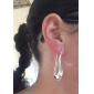 Mother's Day Gift Silver Plated Drop Earring