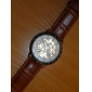 미노타우로스 - 패션 컬러링 브라운 골드 남성용 기계 시계