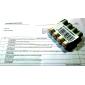 Equipo de Baterías Recargables BTY 3000mAh AA Ni-MH (4 Unidades)