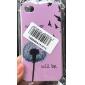 Cartoon Dandelion Pattern Hard Case for iPhone 4/4S