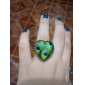 European And American Palace Retro Fashion Wave Of People Love Queling Feather Motif Ring