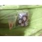 Korean jewelry earrings fashion retro hollow angel tears E16