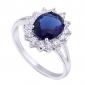 novo ouro chegada das mulheres banhado venda quente elegantes anéis de zircão ovais