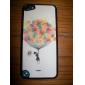 Balões coloridos cintilantes e um menino Padrão Hard Case para iPod touch 5