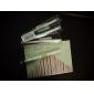꽃 투명 캡 검정 잉크 젤 펜 (무작위 색깔)