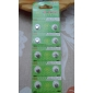 AG4 377A 1.55V High Capacity Alkaline Button Cell Batteries (10-pack)