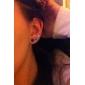 Boucles d'oreille goujon Imitation de diamant Alliage Classique Blanc Arc-en-ciel Bijoux Soirée Quotidien 24pcs