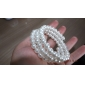 Wrap Bracelet Simulated Faux Pearl Strand Bracelet Stretch Fashion Jewelry Christmas Gifts(1 Pc)