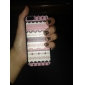 Cas rose de rayure arrière dur pour iPhone 5C