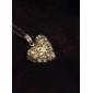 Ожерелье Ожерелья с подвесками Бижутерия Свадьба Повседневные В форме сердца Сердце Стерлинговое серебро Серебрянное покрытие Подарок