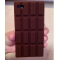 Chocolate Silicone Soft Case for iPhone 4/4S