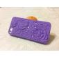 Pour Coque iPhone 5 Antichoc / Relief Coque Coque Arrière Coque Fleur Dur Polycarbonate iPhone SE/5s/5