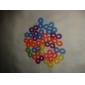 BaoGuang®24PCS Colorful Rainbow Color Loom Hook