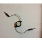 3.5mm aux cable retráctil para ipad aire 2 iphone iphone 6 6 más iphone 5s / 5 el mini ipad 3/2/1 ipad (largo negro / 78cm) de aire