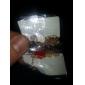 (1 Pc)Sweet 4.5cm Women's Golden Alloy Chain & Link Bracelet(Red,Black,White)